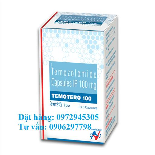 Thuốc Temotero 100 temozolomide giá bao nhiêu mua ở đâu?
