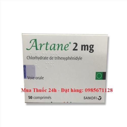 Thuốc Artane 2mg giá bao nhiêu, mua ở đâu