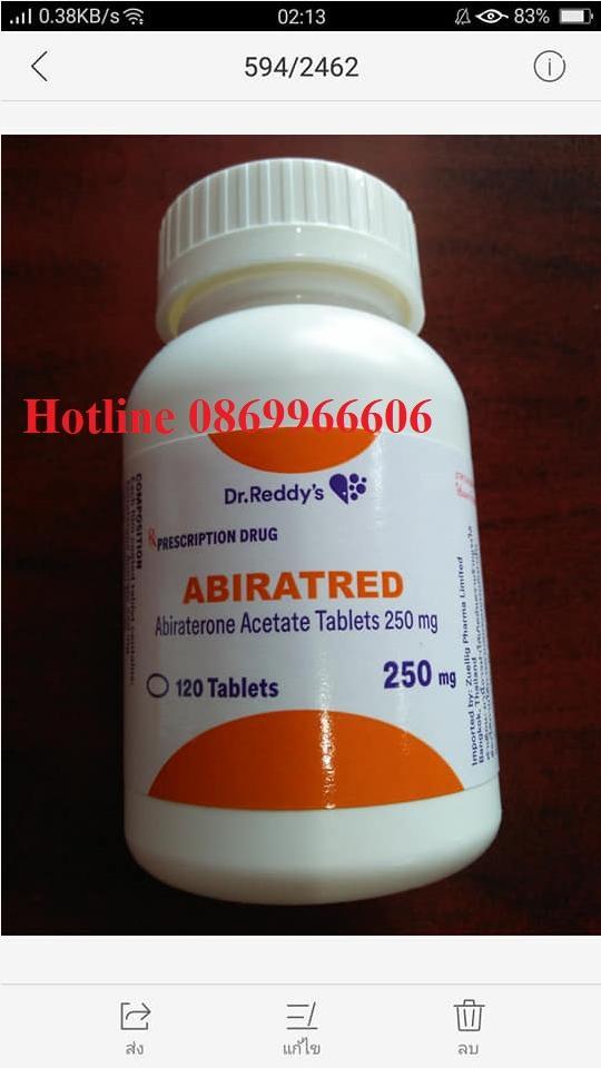 Thuốc Abiratred giá bao nhiêu mua ở đâu?
