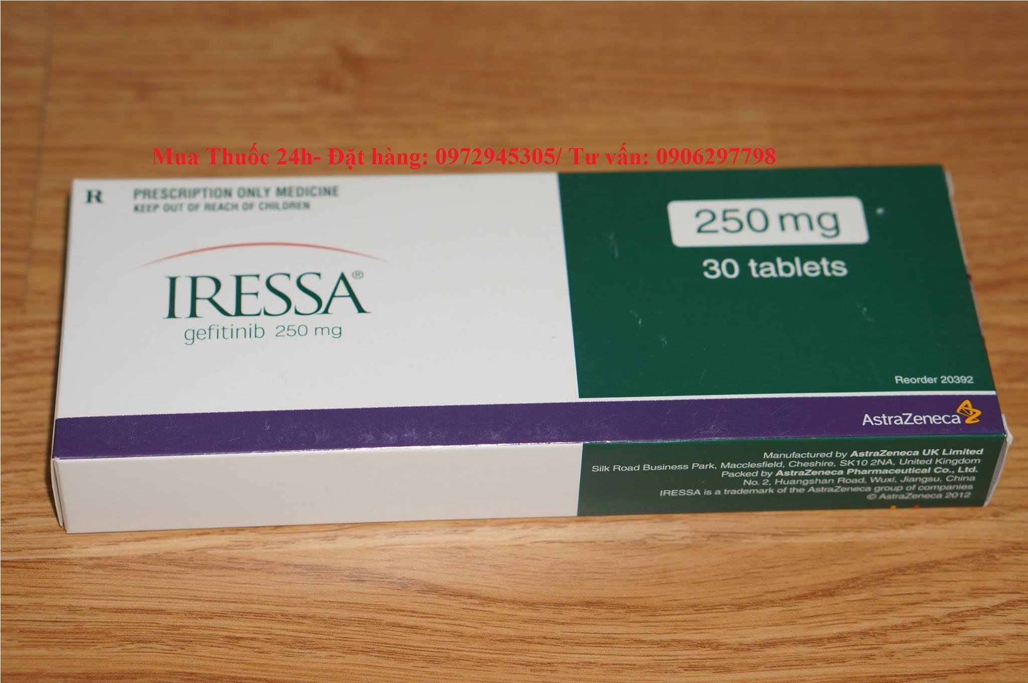 Thuốc Iressa điều trị ung thư phổi mua ở đâu giá bao nhiêu?