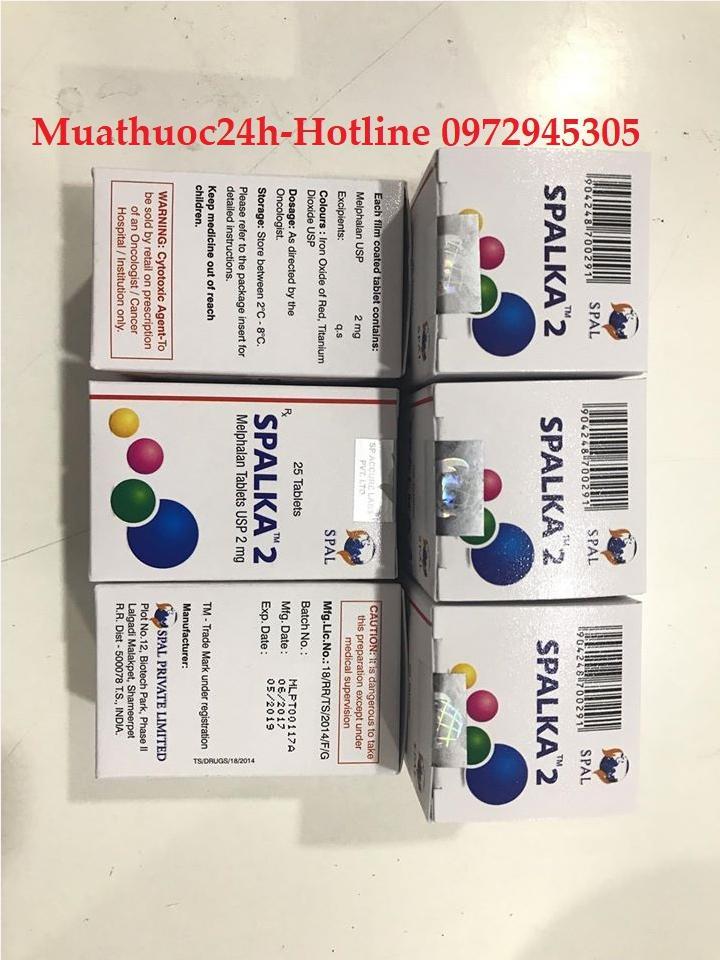 Thuốc Spalka 2 (Melphalan) giá bao nhiêu mua ở đâu?