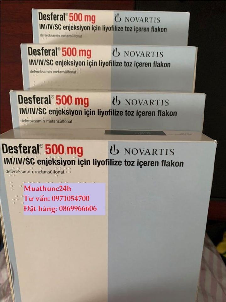 Thuốc Desferal Deferoxamine giá bao nhiêu mua ở đâu?