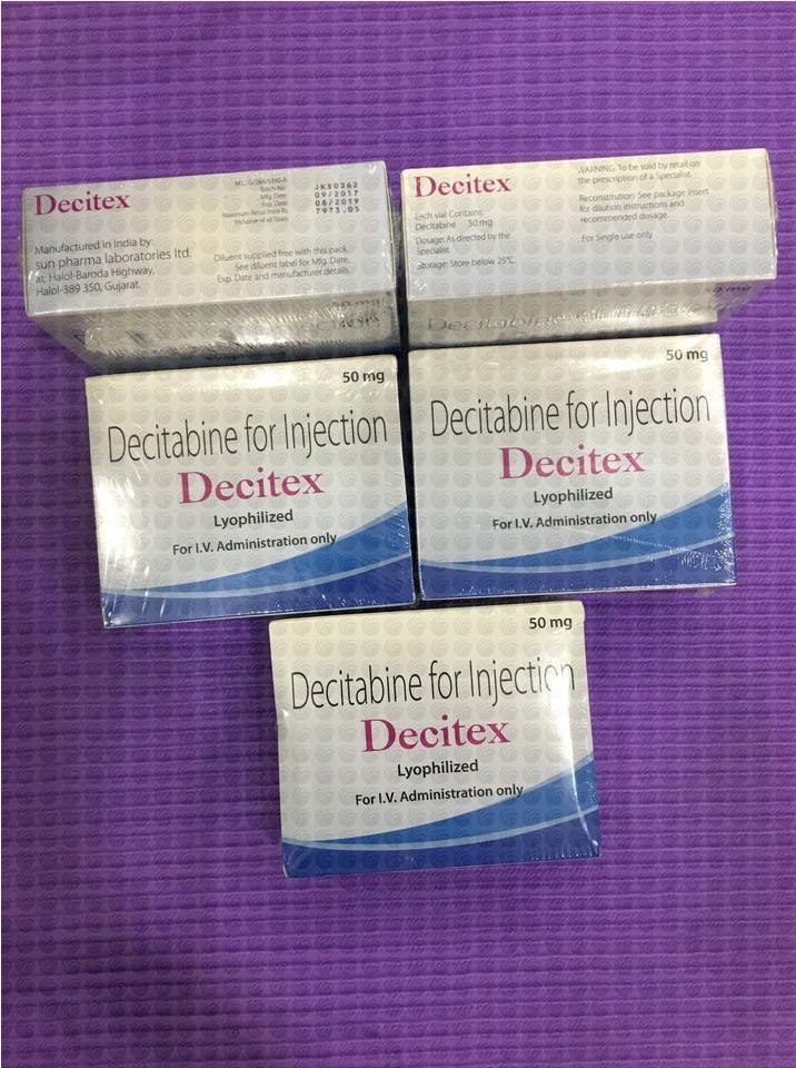Thuốc Decitex Decitabine giá bao nhiêu mua ở đâu?