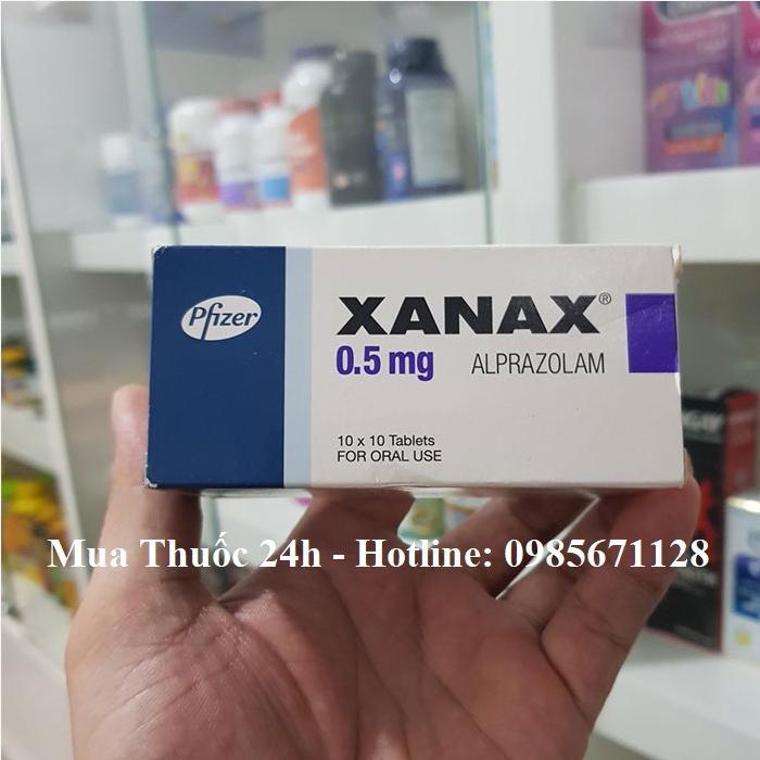 Thuốc Xanax 0.5 mg Alprazolam giá bao nhiêu mua ở đâu