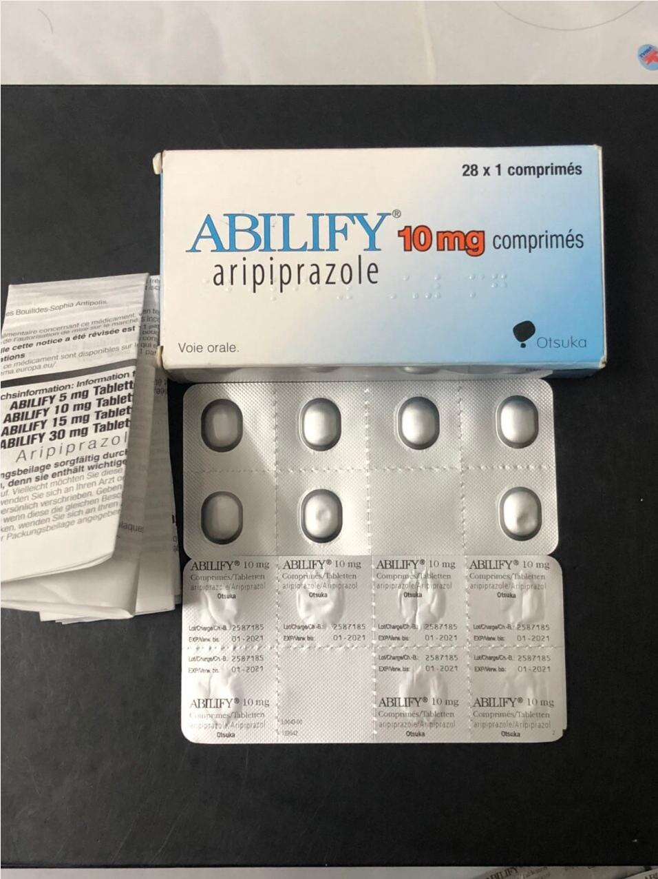 Thuốc Abilify Aripiprazole 5mg giá bao nhiêu mua ở đâu?