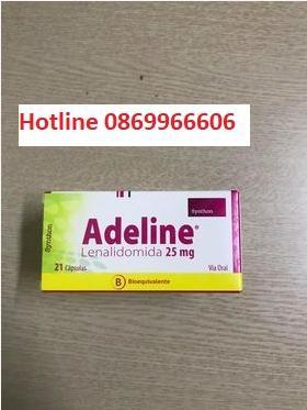 Thuốc Adeline Lenalidomide giá bao nhiêu mua ở đâu?