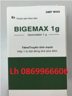 Thuốc Bigemax 1g Gemcitabine giá bao nhiêu mua ở đâu?