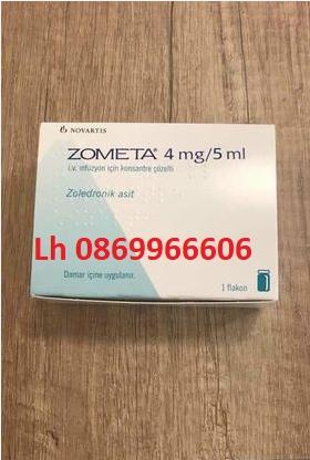 Thuốc Zometa Zoledronic acid giá bao nhiêu mua ở đâu?