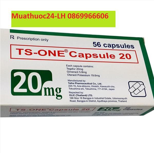 Thuốc Ts-one capsule giá bao nhiêu mua ở đâu?