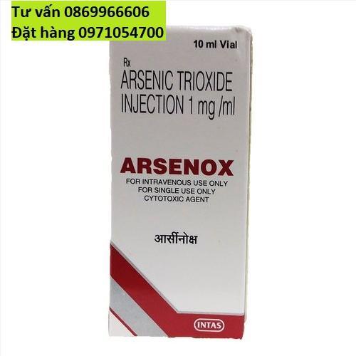 Thuốc Arsenox Asen Trioxide giá bao nhiêu mua ở đâu?