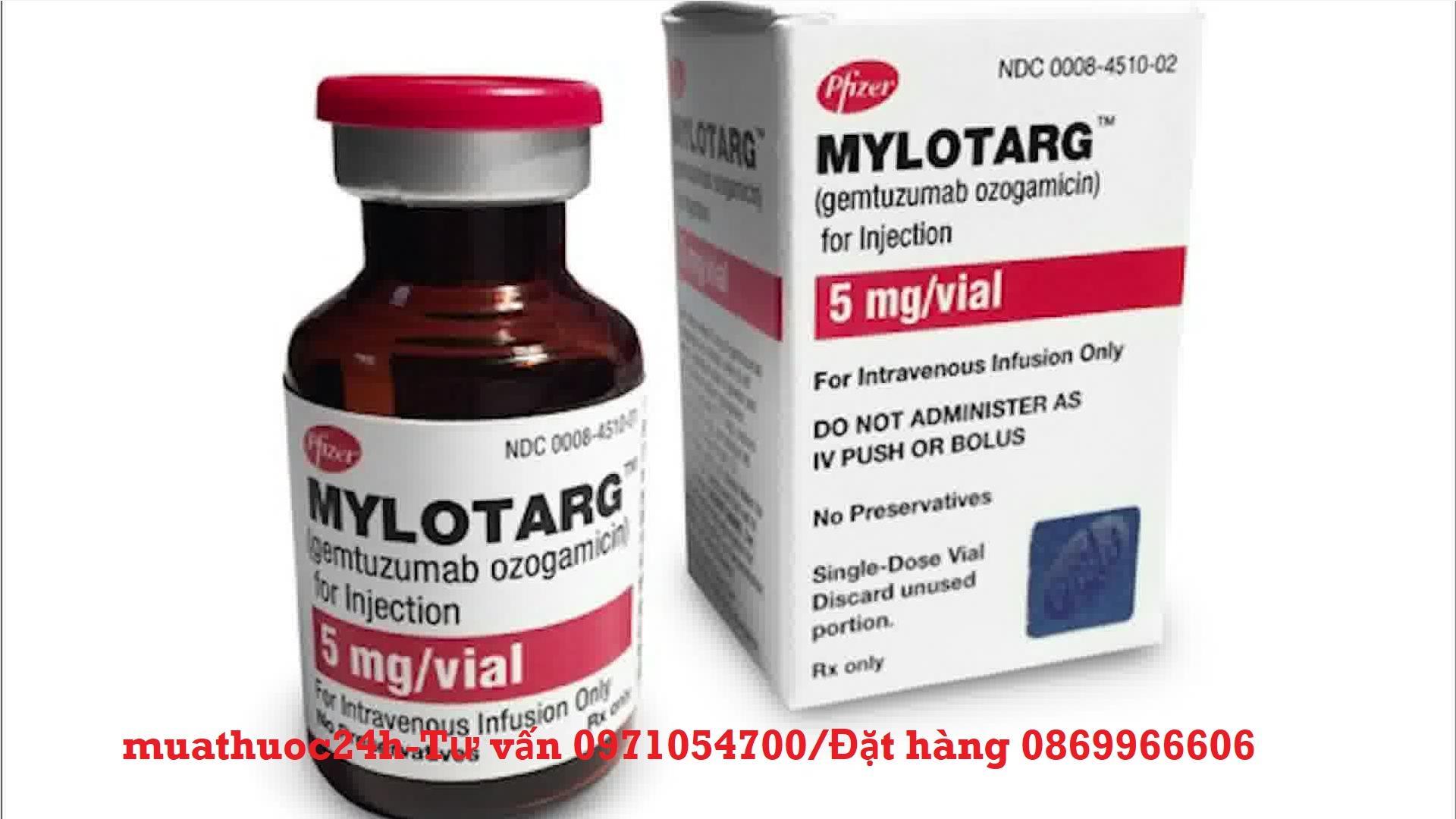 Thuốc Mylotarg Gemtuzumab ozogamicin giá bao nhiêu mua ở đâu?