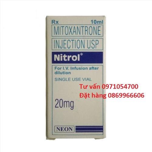 Thuốc Nitrol Mitoxantrone giá bao nhiêu mua ở đâu?