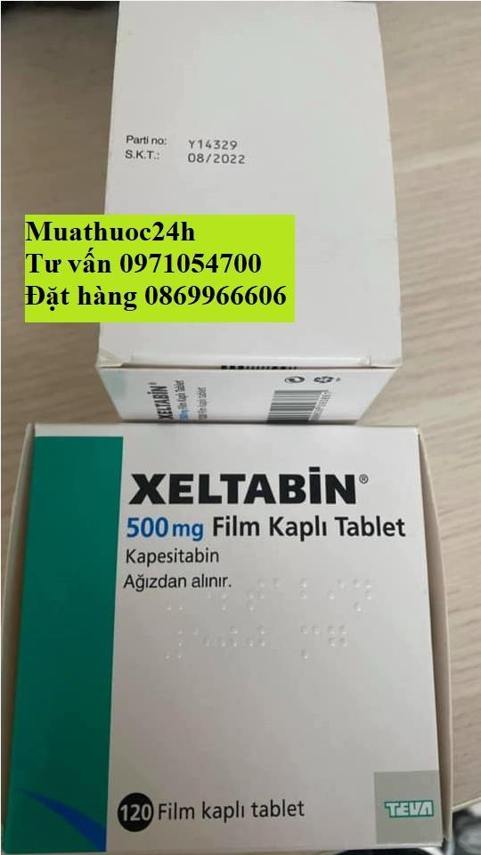 Thuốc Xeltabin Capecitabine giá bao nhiêu mua ở đâu?