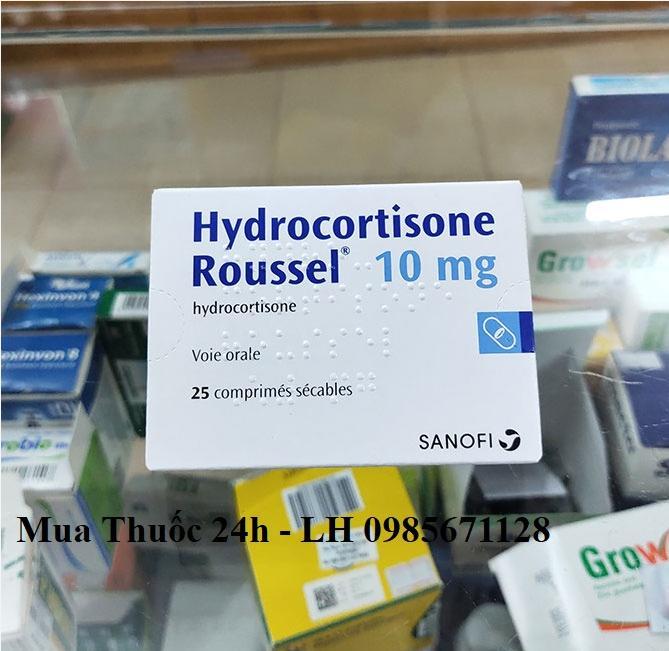 Thuốc Hydrocortisone Roussel 10mg giá bao nhiêu mua ở đâu