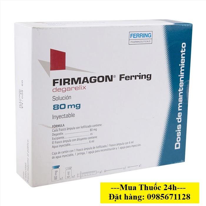 Thuốc Firmagon 80mg Degarelix giá bao nhiêu mua ở đâu