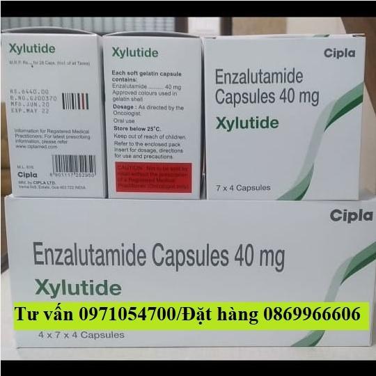 Thuốc Xylutide (Enzalutamide) giá bao nhiêu mua ở đâu?