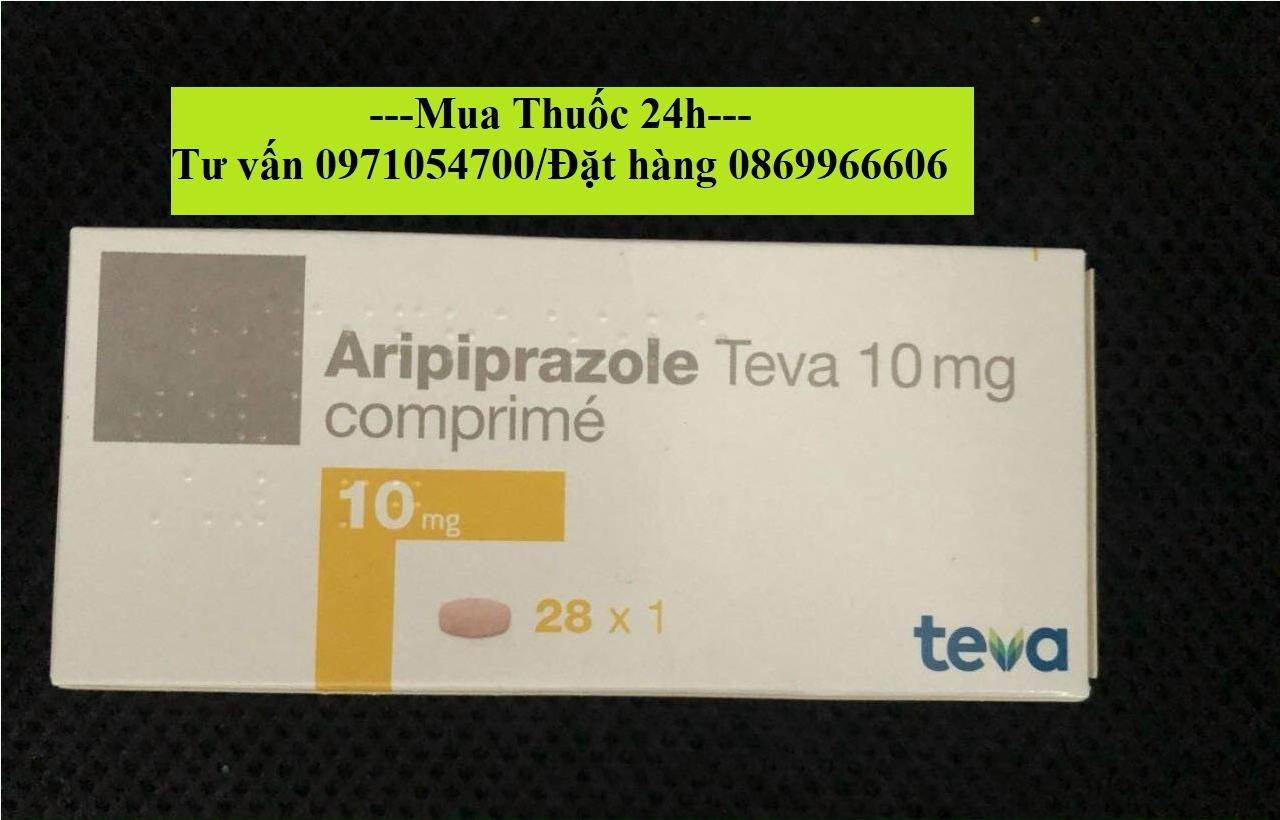 Thuốc Aripiprazole Teva 10mg giá bao nhiêu mua ở đâu?