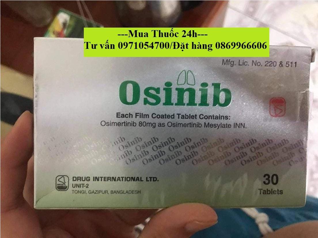 Thuốc Osinib (Osimertinib) giá bao nhiêu mua ở đâu?