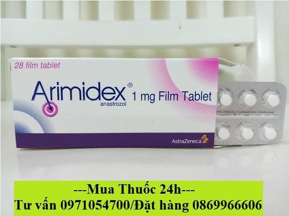 Thuốc Arimidex (Anastrozole) mua ở đâu giá bao nhiêu?