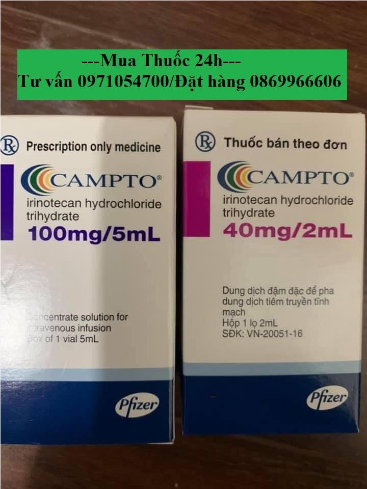 Thuốc Campto (irinotecan) giá bao nhiêu mua ở đâu?