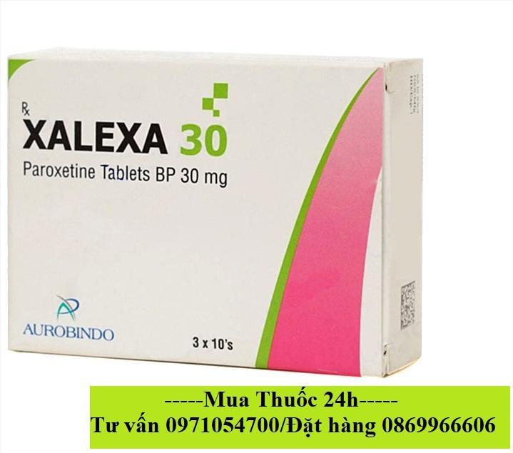 Thuốc Xalexa 30 (paroxetine 30mg) giá bao nhiêu mua ở đâu?