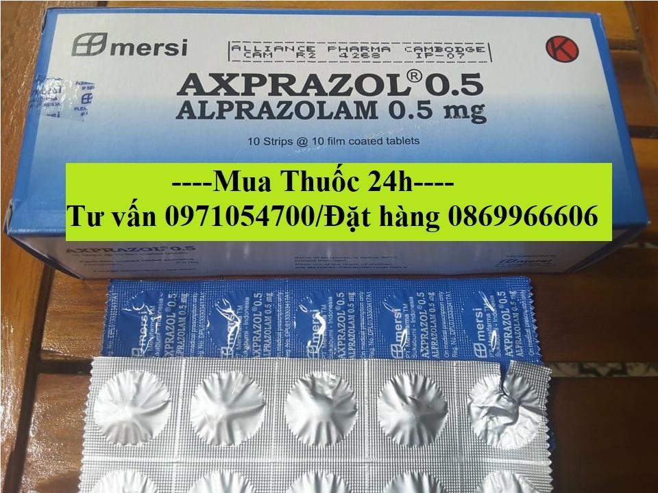 Thuốc Axprazol 0.5 Alprazolam giá bao nhiêu mua ở đâu?