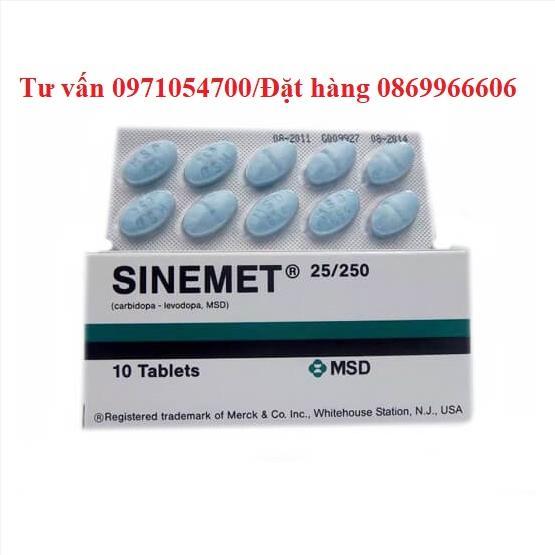 Thuốc Sinemet giá bao nhiêu mua ở đâu?