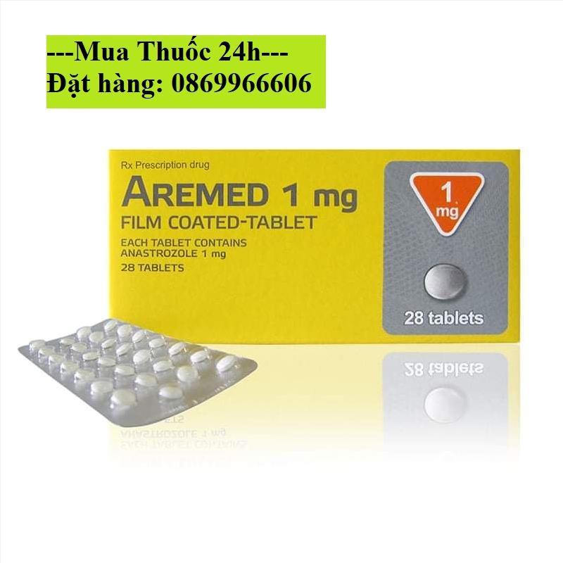 Thuốc Aremed 1mg (Anastrozole) giá bao nhiêu mua ở đâu?