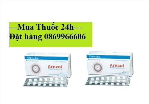 Thuốc Arezol Anastrozole 1mg giá bao nhiêu mua ở đâu?