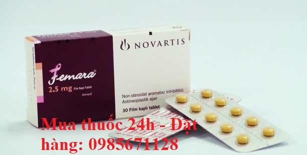 Femara 2.5 mg losartan