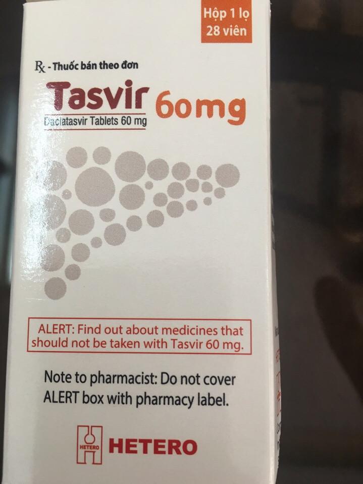 Thuốc điều trị viêm gan C thế hệ mới nhất, giá rẻ Ấn Độ